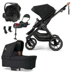 Paketpris Emmaljunga 2021 NXT90 ERGO Duovagn | Outdoor Chassi | Britax Primo | Adapter | Bilbas