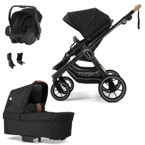 Paketpris Emmaljunga 2021 NXT90 ERGO Duovagn | Outdoor Chassi | Britax Primo | Adapter