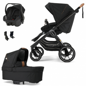 Paketpris Emmaljunga 2021 NXT90 FLAT Duovagn | Outdoor Chassi | Britax Primo | Adapter