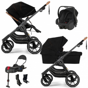 Paketpris Emmaljunga 2021 NXT90 2-1 Duovagn | Outdoor Chassi | Britax Primo | Adapter | Bilbas