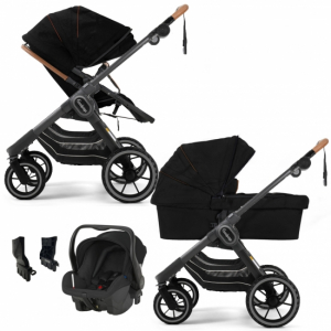 Paketpris Emmaljunga 2021 NXT90 2-1 Duovagn | Outdoor Chassi | Britax Primo | Adapter
