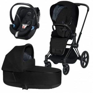 Paket Cybex Priam Duovagn med Aton 5 babyskydd
