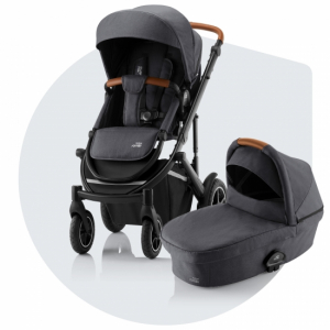 Britax Smile 3 Duovagn Midnight Grey