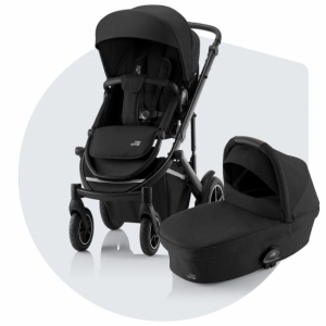 Britax Smile 3 Duovagn Space Black