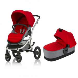 Britax Affinity 2 Flame Red Duo-paket