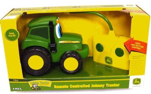 John Deere Radiostyrd Traktor  Bilar btar  tg  Nstan p