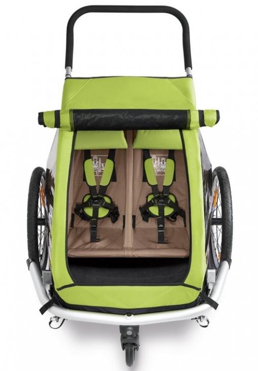 croozer kid 2 2016 joggingvagnar kategori barnvagnar. Black Bedroom Furniture Sets. Home Design Ideas