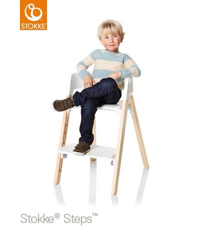 stokke steps matstol natur vit sits stokke tripp trapp mats. Black Bedroom Furniture Sets. Home Design Ideas