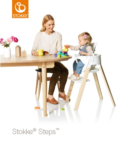 stokke steps matstol whitewash vit sits stokke tripp trapp. Black Bedroom Furniture Sets. Home Design Ideas