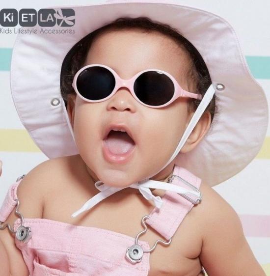 Kietla Solglasögon Barn 0-18 mån Grå  16f278e157326