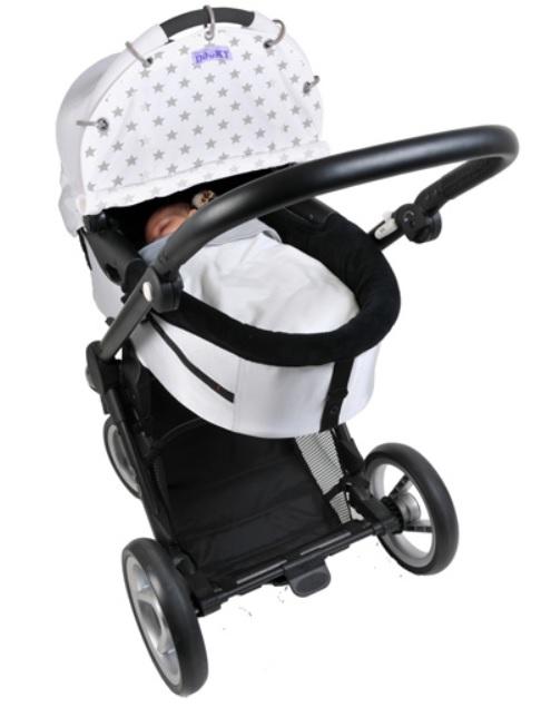 Dooky Design Solskydd för barnvagn Stjärnor  43a8ef476b4f6