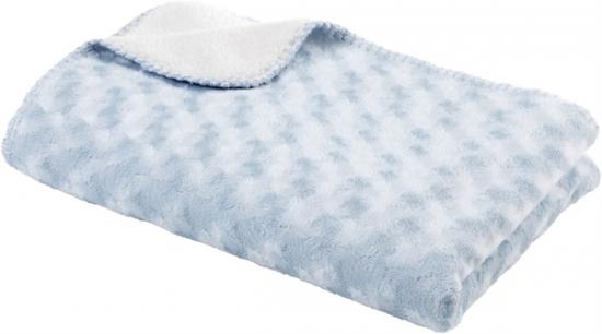 BabyDan Fleecefilt Ljusblå i gruppen Barnrum   Textilier   Filtar   Fleece  hos Köpbarnvagn.se 9a4a939943351