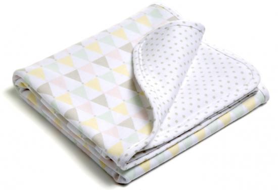 Babyfilt Little Heart Pastell Confetti | Little Heart - PÅSLAKANSET