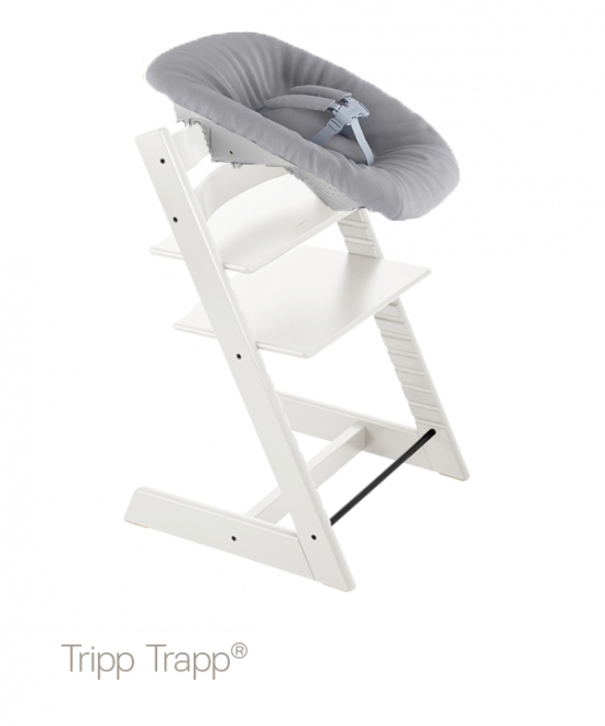 Köp Stokke Paket Stokke® Tripp Trapp® Stol Vit + Newborn Set
