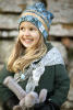 Elodie Details Winter Beanie Gilded Everest Feathers