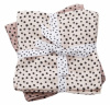 Done by Deer Swaddle Filt Happy Dots Powder, 2-pack