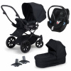Paket! Crescent Performance Duo Black med Aton 5 babyskydd + Adapter