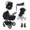 Paketpris! Cybex Talos S Lux 2in-1 Deep Black + Aton 5, Bas & Adapter