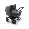 Paketpris! Donkey 3 Twin + 2st Maxi Cosi Cabriofix & Adapter